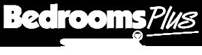 Bedrooms Plus and Spacepro sliding wardrobe doors logos
